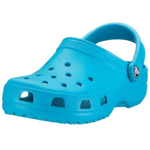 crocs Unisex/Erwachsene Classic Clogs, Blau (Turquoise) , 45/46 EU