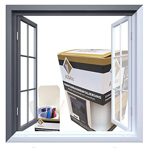 Fensterrahmenfolie 9m Folie (Weiß)