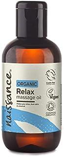 Naissance Aromatherapie Ontspannen gecertificeerde biologische massage olie 100ml - met Argan, Jojoba, Kamille, Lavendel, ...