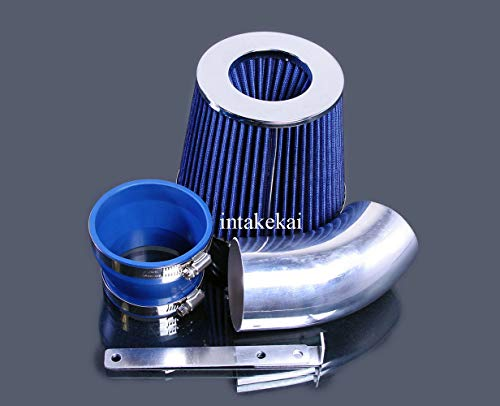 PERFORMANCE AIR INTAKE KIT + FILTER FOR 1996-1999 BMW 318 i/is/ti / Z3 1.9L L4 ENGINE (BLUE)