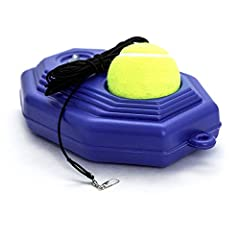 Our Fill & Drill builds quickness, hand-eye coordination, and stamina. We added extra elastic strings so you can attach even 2 or 3 elastic rope to one ball. Will improve your concentration, athletic ability and develop interests of sports. Easy to u...