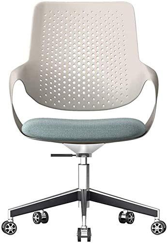 TGFVGHB Silla de ocio de moda de elevación giratoria silla de ordenador silla de oficina asiento ergonómico cintura trasera muebles de oficina para el hogar