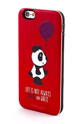 BubbleGum Cases - Carcasa rígida para Modelos Sony Xperia, Panda Black & White, Sony Xperia XA
