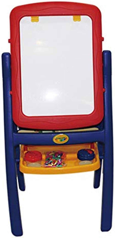 Kinder Staffelei doppelseitige magnetische Kunststoff Reibrett Skizze Reibrett Folding Tafel 4 in 1 Kinder pdagogisches Spielzeug