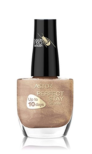 Astor Perfect Stay Gel Shine Nagellack, langanhaltend, 633 Island Sand, 1er Pack (1 x 12 ml)