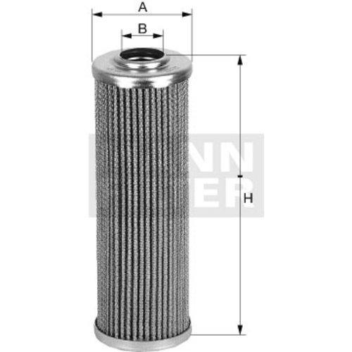 Original MANN-FILTER Ölfilter für Automatikgetriebe HD 722 – Getriebefilter – Für Nutzfahrzeuge