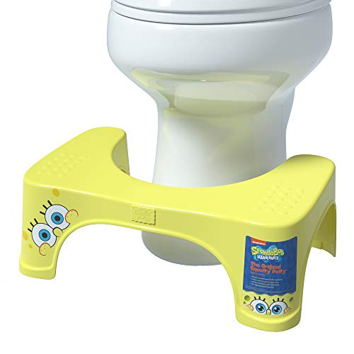 Squatty Potty Spongebob Squarepants Toilet Stool by
