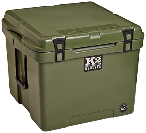 K2 Coolers Summit 60 Cooler, Duck Boat Green