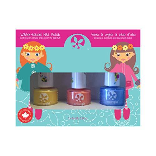Suncoat Girl egg-spiration Kit 3-Nagellack zu Wasser für Kinder