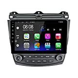 Android 10.1 Honda Accord Car Radio Stereo,10 inch Capacitive Touch Screen High Definition Head Unit, Build-in Bluetooth AM/FM GPS NAV USB Player 4GB+64GB for Honda Accord 7th 2003 2004 2005 2006 2007