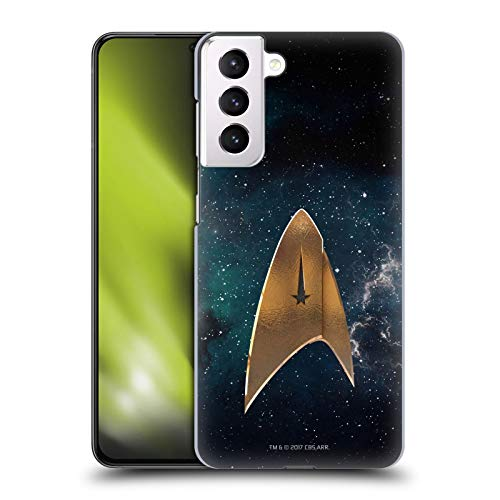 Head Case Designs Officially Licensed Star Trek Discovery Delta Logo Hard Back Case Compatible with Samsung Galaxy S21+ 5G
