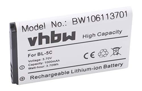 vhbw -   Li-Ion Akku 1000mAh