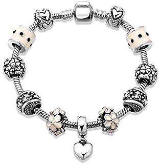 Fashion Heart-Shaped Charm Bracelet For Women