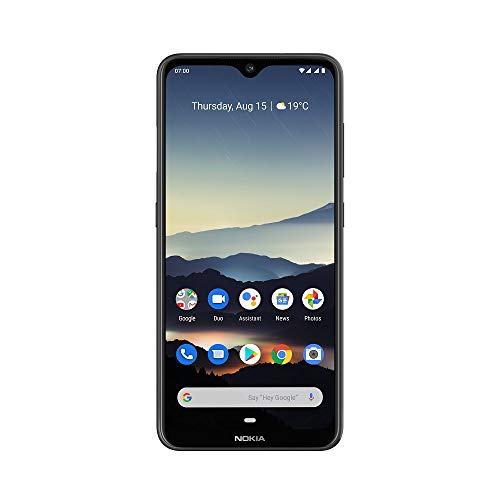 Nokia 7.2 6.3-Inch Android UK SIM-Free Smartphone with 4GB RAM and 64GB Storage (Dual Sim) – Charcoal