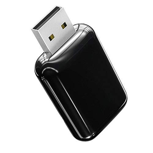 EDUP 1200 Mbps Bluetooth 4.1 USB WiFi Adapter, 802.11AC Dual Band 2.4Ghhz/5.8Ghz Adaptador USB WiFi Dongle para Sobremesa/Ordenador, Soporte OS Win Vista/XP/7/8.1/10/MacOS 10.6~10.15.3