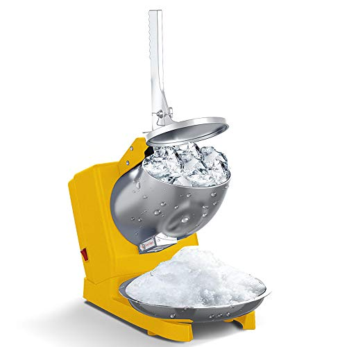 Household ice crusher 500W Electric Ice Shaver Machine 304 Stainless Steel...