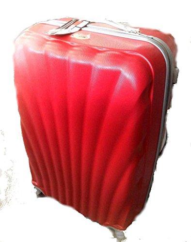Juego de 3 Maletas Expandibles (con 2 cremalleras, proporcionan unos 10 cms. más).En 9 colores a elegir. Medidas maleta grande: 75x50x30 cms.. (Rojo)