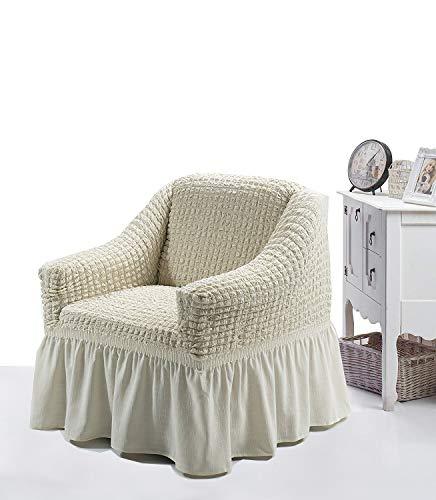 My Palace 1 Sitzer Sesselbezug. Sesselschoner, Sesselhusse, Sesselschutz, Sesselüberwurf, Sesselüberzug. Stretch-bezug mit Anti rutsch System