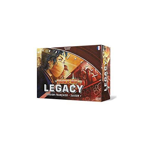 Pandemic Legacy - Juego de Mesa (Rojo), diseño de Asmodee