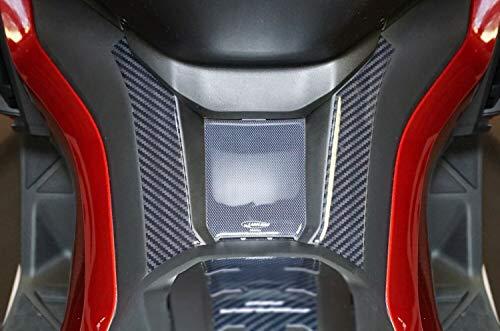 Adhesivo de Resina de Gel 3D para protección del Estribo Compatible con Honda Scooter Forza 750