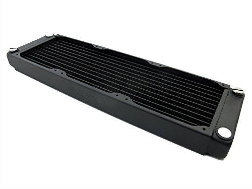 XSPC - Crossflow V2 EX360 - Radiador con Tres Ventiladores de 120mm, Color Negro