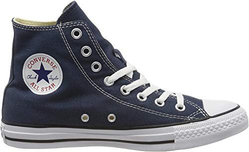 Converse Sneaker All Star Hi Canvas, Sneakers Unisex Adulto, Blu (Navy/White), 36 EU