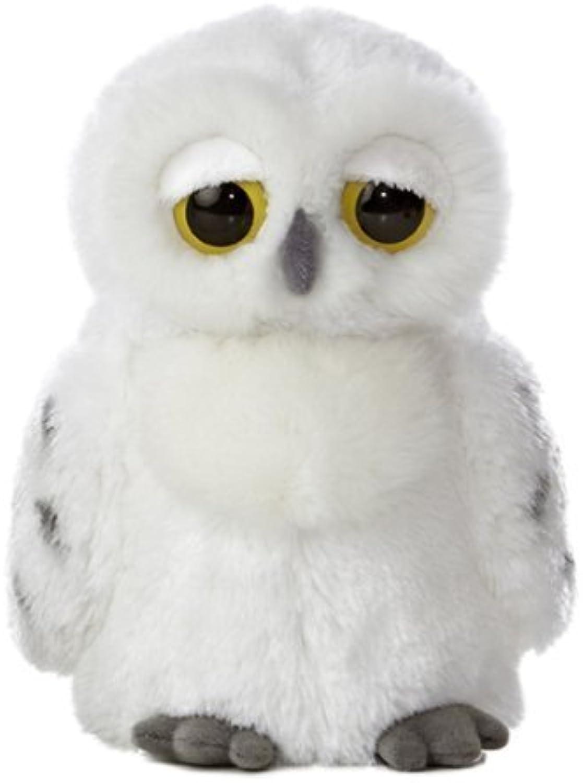 Aurora World World Peluche aux grands yeux  9,5 cm, Lil'Flurry Snowy Owl Par Aurora World Inc. (peluche