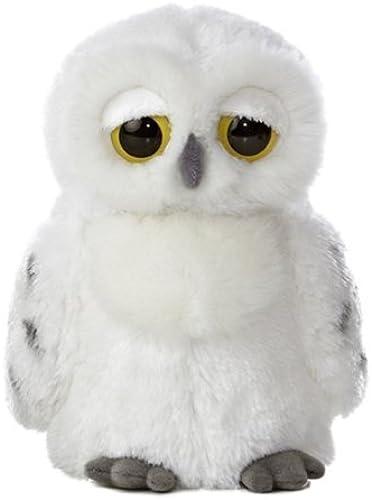 Aurora World World Peluche aux Gründs yeux - 9,5 cm, Lil'Flurry Snowy Owl Par Aurora World Inc. (peluche
