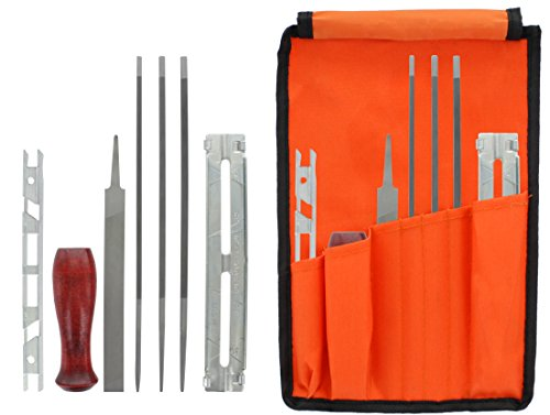 Drixet Chainsaw Sharpening & Filing Kit – Includes: 5/32',...