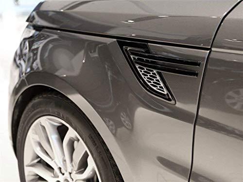 GJJSZ Car Side Fender Strips Trim,Piano schwarz Kompatibel mit Range Rover Sport 2014 2015 2016 2017