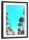 artboxONE Poster mit Rahmen schwarz 75x50 cm OC Nature von