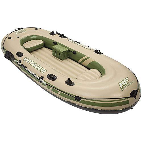 Bestway Hydro Force Voyager 500 Inflatable Lake Ocean Boat Raft Set w/Oars