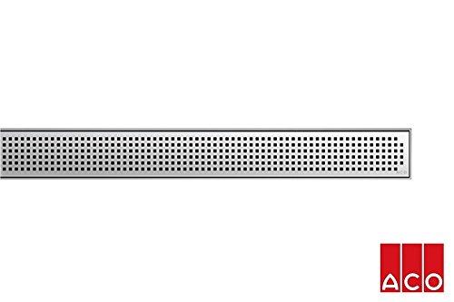 ACO Hochbau Rost zu Duschrinne Design Quadrato L=900