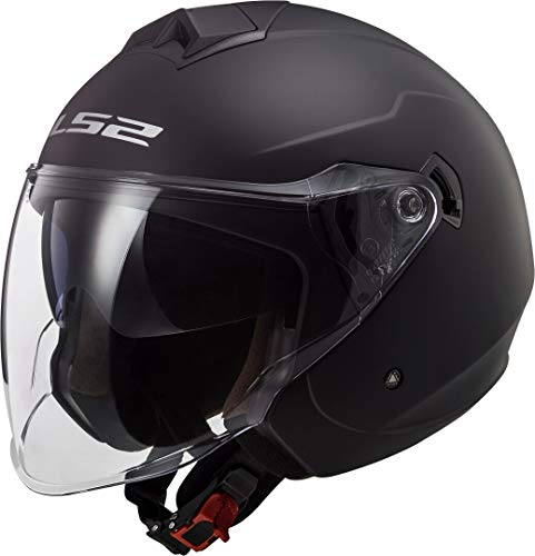 Casco moto LS2 OF573 TWISTER II SINGLE MONO MATT Nero, Nero, M