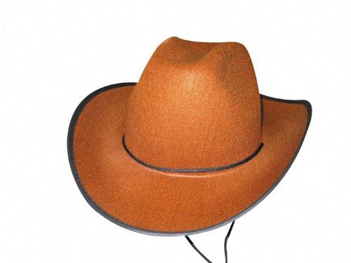 Party Pro- Chapeau de cow-boy, 84302163, Marron