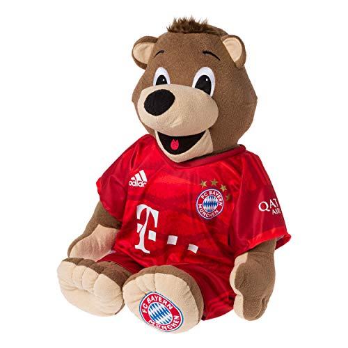 FC Bayern München Bernie 35 cm im neuen Trikot Saison 2019/20 Plus gratis Aufkleber Forever München