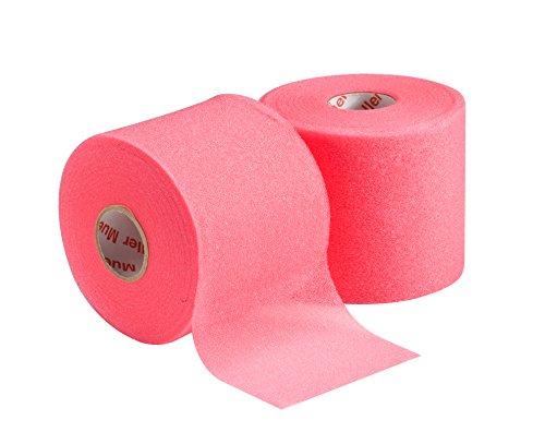 "Mueller MWrap Latex-Free Prewrap, 2.75"" X 21.4 Yd Roll, Pink, 2 pack"