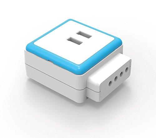 Qubic voeding, overspanningsbeveiliging, 2,4 A, 1 USB-verlenging (vereist starterkit).