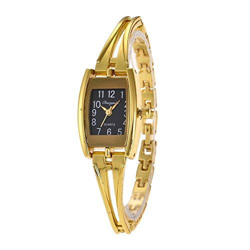 YAZILIND Cuarzo Reloj de Pulsera Rectangular dial Reloj de A