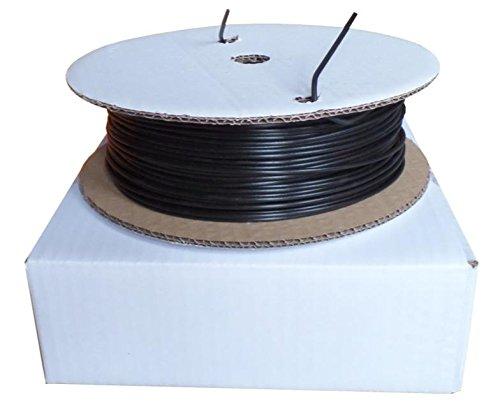 PLA 3 mm 1 kg netto, 'Eco' SmartPrint-filament per 3D-stampanti/stampante su rocchetto, colore: Nero