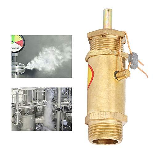 Veiligheidsklep, G3/8 overdrukklep, G3/8 luchtcompressor Veiligheidsklep, compressorklep voor ketelstoomgenerator, 2KG, 3KG, 5KG(5KG)
