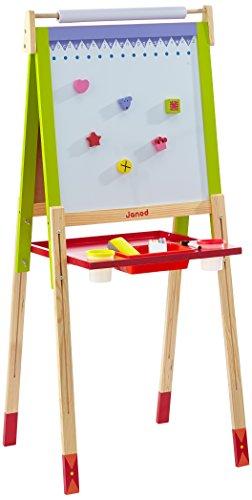 Janod - J07582 - Loisir Créatif - Tableau Enfant 4 Pieds Réglables (Bois)