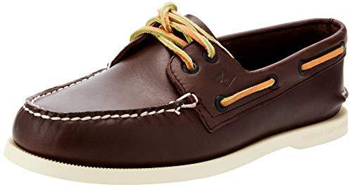Sperry mens A/O 2 Eye Boat Shoe, Brown Buck, 9 US