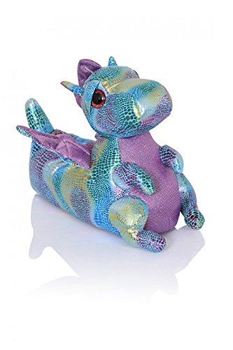 Nifty Kids 3D Dinosaurier weich Pantoffeln gepolstert Jungen und Mädchen NEUHEIT Schuhwerk - Dina Drache, 11/12 UK Kinder