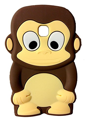 SKS Distribution marrón silicona mono Monkey FUNDA/CARCASA / COVER para LG...
