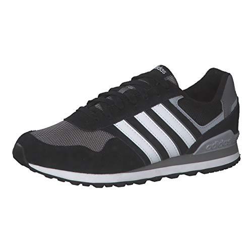 adidas 10K, Zapatillas de Running Hombre, NEGBÁS/FTWBLA/Gricua, 42 EU ⭐