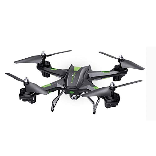 WRJI Drohne 3-Megapixel-HD-Luftbildaufnahmen Quadcopter-Headless-Modus EIN-Tasten-Return-Schwarz