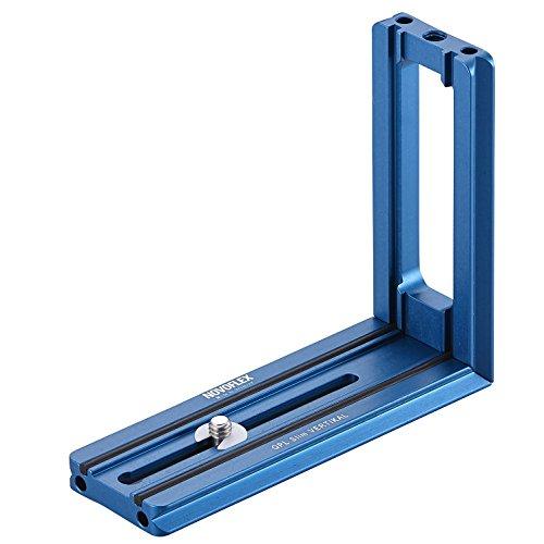 Novoflex QPL Slim Vertikal Stativ blau