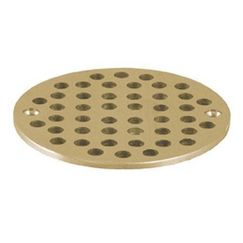 Strainer Floor Drain Top, Brass, 4 5/8