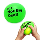 Giant Stress Ball for Kids Color Changing, Jumbo Squishy Stress Ball Fidget Toy, Anti Stress Sensory Ball Squeeze for Anxiety Relief, Huge Stress Relief Ball (3.5 Inch) for Easter Stocking Stuffers